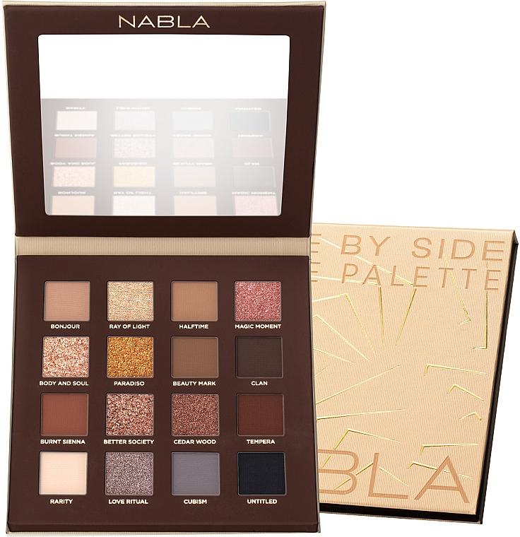 Palette ombretti - Nabla Side By Side Nude Palette