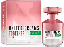 Profumi e cosmetici Benetton United Dreams Together For Her - Eau de toilette