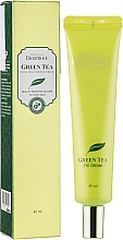 Profumi e cosmetici Crema contorno occhi idratante al tè verde - Deoproce Premium Greentea Total Solution Eye Cream