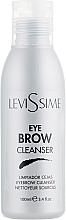 Profumi e cosmetici Detergente per sopracciglia prima della colorazione - LeviSsime Eye Brow Cleanser