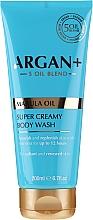 Profumi e cosmetici Crema-gel doccia - Argan+ Super Creamy Body Wash