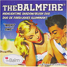 Profumi e cosmetici Cipria illuminante viso - TheBalm TheBalmFire Highlighting Shadow Blush Duo
