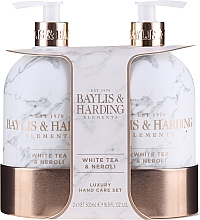 Profumi e cosmetici Set - Baylis & Harding White Tea & Neroli Hand Care Set (soap/500ml + h/b/lotion/500ml)