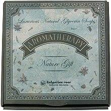 Profumi e cosmetici Set regalo di sapone naturale alla glicerina - Bulgarian Rose Aromatherapy Nature Soap