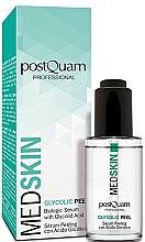 Profumi e cosmetici Siero-peeling ialuronico viso - PostQuam Med Skin Glycolic Peeling Serum