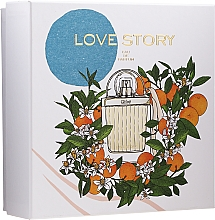 Profumi e cosmetici Chloe Love Story - Set (edp/50ml + b/lot/100ml)