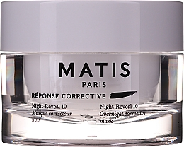 Profumi e cosmetici Maschera viso in gel intensamente idratante - Matis Reponse Corrective Night Reveal 10 Overnight Corrective Mask