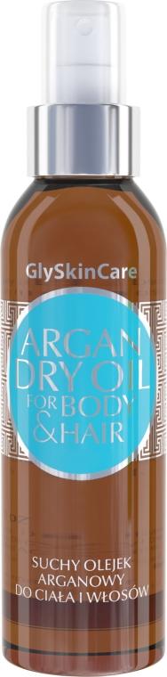 Olio di argan secco per corpo e capelli - GlySkinCare Argan Dry Oil For Body & Hair
