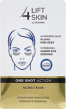 Profumi e cosmetici Patch sotto gli occhi - AA Cosmetics Lift 4 Skin Hydrogel Under-Eye Patches Aloe