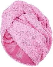 Profumi e cosmetici Asciugamano turbante, rosa - MakeUp