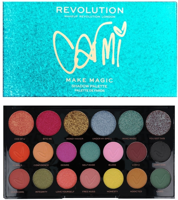Palette ombretti - Makeup Revolution X Carmi Make Magic Eyeshadow Palette