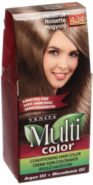Tinta per capelli senza ammoniaca, con olio di argan e macadamia - Venita Multi Color
