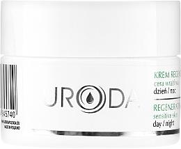 Profumi e cosmetici Crema rigenerante per pelli sensibili, da giorno e notte - Uroda Regenerating Face Cream For Sensitive Skin