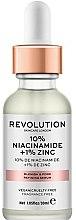 Profumi e cosmetici Siero per pori dilatati - Revolution Skincare 10% Niacinamide + 1% Zinc