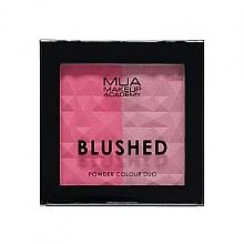 Profumi e cosmetici Cipria - MUA Blushed Powder Colour Duo