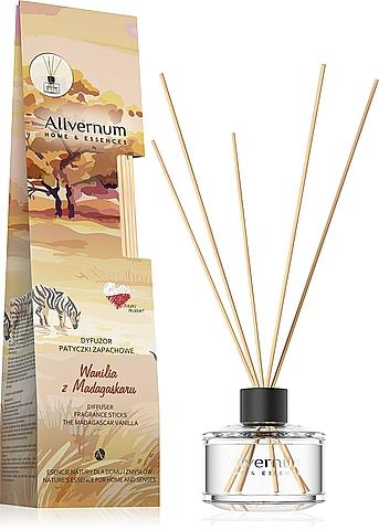 """Aromadiffusore """"Vaniglia del Madagascar"""" con bastoncini - Allverne Home&Essences Diffuser"""