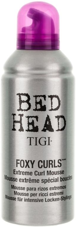 Mousse di capelli ricci - Tigi Bed Head Foxy Curls Extreme Curl Mousse