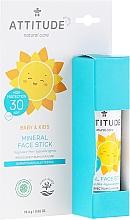 Profumi e cosmetici Stick solare viso - Attitude Mineral Face Stick SPF 30
