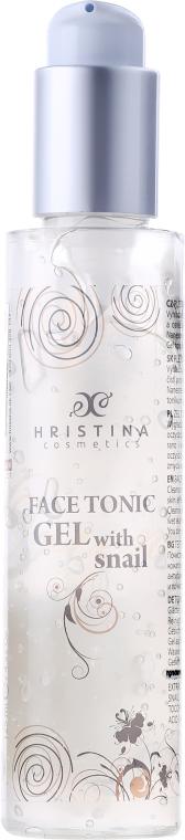Gel tonico viso con estratto di bava di lumaca - Hristina Cosmetics Orient Snail Gel-Tonic