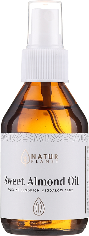 Olio di mandorle dolci - Natur Planet Sweet Almond Oil 100%