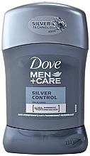 Profumi e cosmetici Antitraspirante stick uomo - Dove Men+ Care Silver Control Antyperspirant Stick