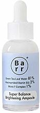 Profumi e cosmetici Siero viso illuminante - Barr Super Balance Brightening Ampoule