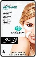 Profumi e cosmetici Patch sotto gli occhi - Iroha Nature Anti Age Hydrogel Patches Collagen