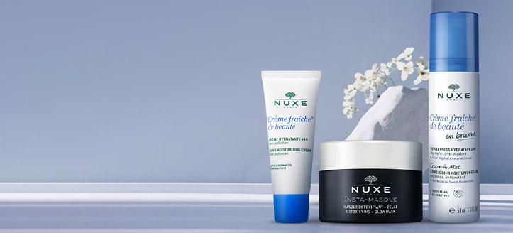 Ricevi in regalo una crema viso idratante, acquistando prodotti Nuxe da 22 €