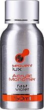 Profumi e cosmetici Monomero liquido per manicure in acrilico - Silcare Sequent Lux Acrylic Monomer Fast Violet