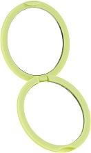 Specchietto tascabile rotondo 85543, verde neon - Top Choice Colours Mirror — foto N2
