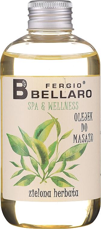 """Olio da massaggio """"Tè verde"""" - Fergio Bellaro Massage Oil Green Tea"""