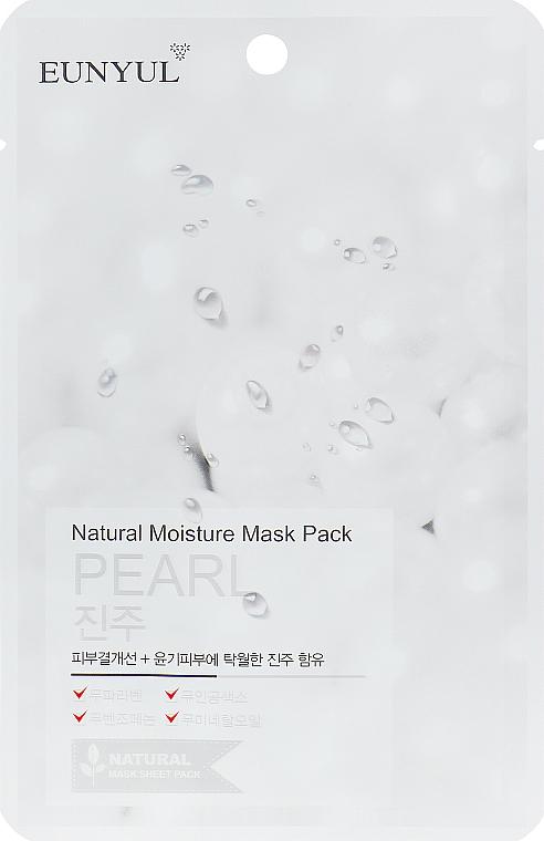 Maschera viso con estratto di perla - Eunyul Natural Moisture Mask Pack-Pearl