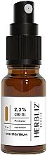 """Profumi e cosmetici Olio-spray collutorio """"Classico"""" 2.5% - Herbliz CBD Classic Full Spectrum Oil Mouth Spray 2,5%"""