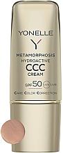Profumi e cosmetici Crema viso opacizzante SPF50 - Yonelle Metamorphosis Hydroactive CCC Cream SPF50