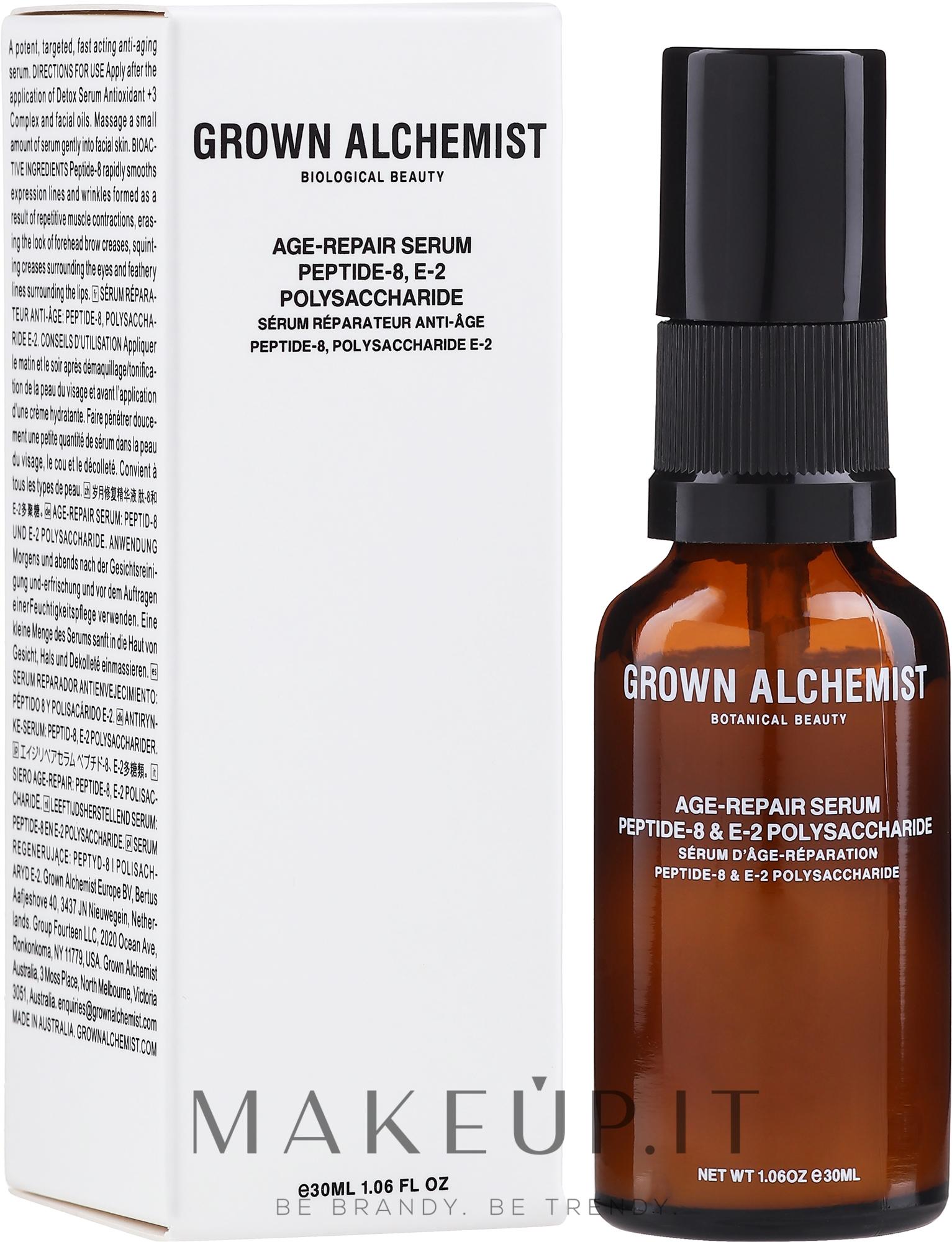 Siero rivitalizzante antirughe - Grown Alchemist Age-Reapir Serum — foto 30 ml