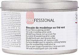 "Profumi e cosmetici Candela profumata da massaggio ""Tè verde"" - Peggy Sage"