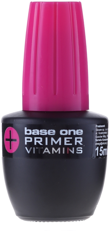 Base unghie - Silcare Base One Primer+Vitamins