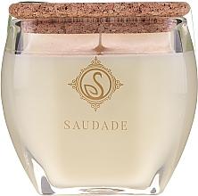 "Profumi e cosmetici Candela profumata ""Cedro di pino"" - Essencias De Portugal Senses Saudade Pine Cedar Candle"