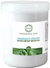Profumi e cosmetici Crema da massaggio all'olio di semi di canapa - Yamuna Massage Cream