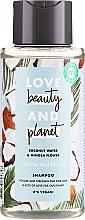 """Profumi e cosmetici Shampoo per capelli """"Volume e generosità"""" - Love Beauty&Planet Coconat Water & Mimosa Flower"""