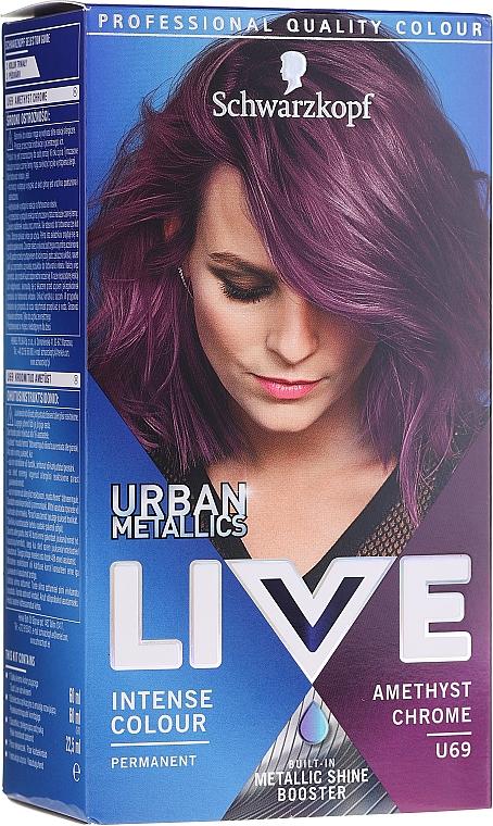 Tinta per capelli - Schwarzkopf Live Urban Metallics Intense Colour