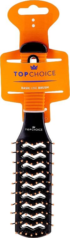 Spazzola per capelli, 2021, nero-arancio - Top Choice