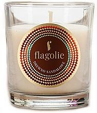 "Profumi e cosmetici Candela profumata ""Sandalwood"" - Flagolie Fragranced Candle Sandalwood"