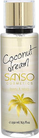 """Spray corpo """"Coconut Dream"""" - Sanso Cosmetics Coconut Dream Body Spray"""