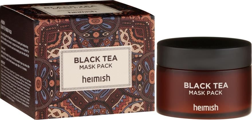 Maschera lenitiva per il viso - Heimish Black Tea Mask Pack — foto N1