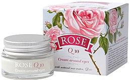 Profumi e cosmetici Crema contorno occhi con Q10 - Bulgarian Rose Rose Q10 Cream Araund Eyes