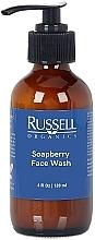 Profumi e cosmetici Gel detergente - Russell Organics Soapberry Face Wash Gentle Cleanser