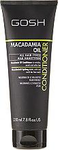 Profumi e cosmetici Balsamo per capelli con olio di macadamia - Gosh Macadamia Oil Conditioner