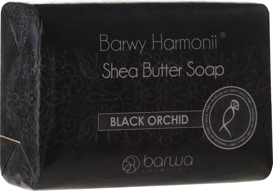 """Saponetta """"Orchidea nera"""" - Barwa Harmony Soap Black Orchid"""