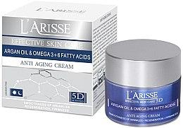 Profumi e cosmetici Crema viso antirughe all'olio di argan e omega 3 e 6, 65+ - Ava Laboratorium L'Arisse 5D Anti-Wrinkle Cream Agran Oil & Omega 3+6